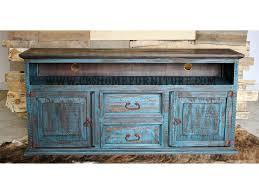Santa Fe Antique Turquoise 60 TV Stand
