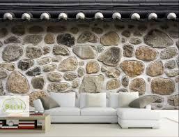 tapete mit steineffekt wand steinwand hintergrund design