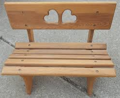 BenchRustic Wooden Benches Bench Lowes With Back Reclaimed Wood Garden