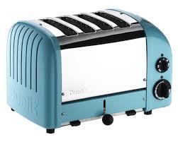 Dualit New Generation Classic 4 Slice Toaster Azure Blue