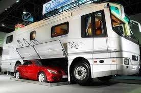 8 Awesome Car Carrying Motorhomes You Must See