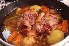 cuisiner le jarret de boeuf jarret de veau aux légumes cookeo mamy nadine cuisine