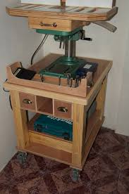 drill press stand plans google search tool storage pinterest