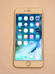 Excellent Used Iphone 6 Plus Gold A1524 16gb Gsm T mobile Cellular