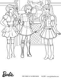 Coloriage De Barbie En Ligne Lin Liomptable