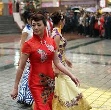 cheongsam show held in china u0027s chongqing xinhua english news cn