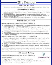 Executive Assistant Resume Example 2016