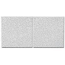 Tegular Ceiling Tile Dimensions by Amazon Com Acoustical Ceiling Tile 24