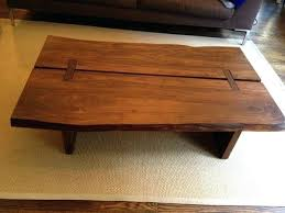 Slab Wood Projects Raw Edge Coffee Table Pin By Case On