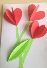 Crepe Paper Youth Activities Mothers Day Crafts Nylon Flowers Preschool Projects For Kids Pop Up Cards