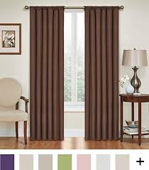 Eclipse Blackout Curtains Amazon by Amazon Com Eclipse 10707042x063ch Kendall 42 Inch By 63 Inch