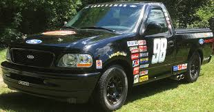 1998 Ford F150 NASCAR Edition For Sale | ClassicCars.com | CC-1131699 Introducing The Dale Jr No 88 Special Edition Chevy Silverado Moffitt And Underdog Race Team Win Truck Series Title News Toyota Stock Photos Images Alamy Pickup Truck Racing Wikiwand Bangshiftcom 1970 Dodge D100 Is Built As A Unique Nascar Manufacturer Ford Nascar Show Car Fusion For Sale Home Charger Daytona How To Score Used Parts Cheap Hot Rod Network Someone Stop Me From Buying This Race Own A Street Legal For 21000