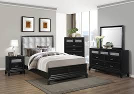 Elisa Black B9300 King Bedroom Set