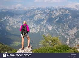 100 Where Is Slovenia Located Girl Enjoying View Over Julian Alps From Mount Vogel Lake