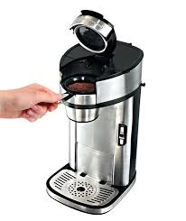 Hamilton Beach Single Serve Scoop Coffee Maker The Cup One