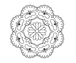 Rangoli Designs Printable Coloring Pages Me