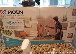 Moen Motionsense Faucet Not Working by Some Kitchen Updates A Moen Motionsense Faucet And Moen Detergent