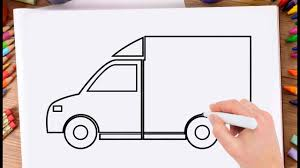 How To Draw Delivery Truck Learn Drawing A Delivery Truck Very Easy ... How To Draw The Atv With A Pencil Step By Pick Up Truck Drawing Car Reviews 2018 Page Shows To Learn Step By Draw A Toy Tipper 2 Mack 3d Pickup 1 Cakepins Truck Youtube Cars Trucks Sbystep Itructions For 28 Different Vehicles Simple Dump Printable Drawing Sheet Diesel Drawings Best Of Monster An F150 Ford