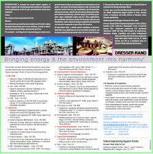 jobs in dresser rand india pvt ltd vacancies in dresser rand