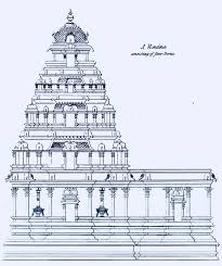 100 A Architecture 1834 Sketch Of Elements In Hindu Temple Architecture Four