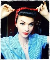 Rosie The Riveter Halloween Tutorial by Rosie The Riveter Makeup And Hair Tutorial Foto U0026