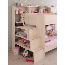 parisot acacia bibop bunk bed with optional drawer bed family window