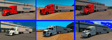 100 Cr England Truck Swift And CR Skins ATS Mod For American