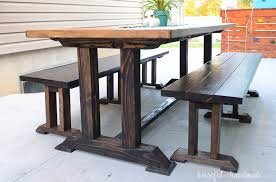 This Beautiful Outdoor Dining Table Is Perfect For Your Patio There Room All