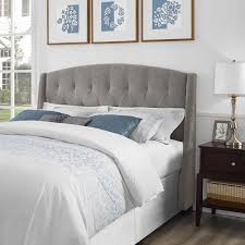 Roma Tufted Wingback Headboard Dimensions by Dorel Living Dorel Living Roma Tufted Wingback