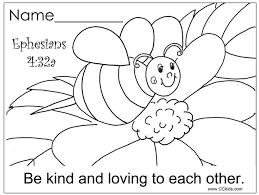 Free Android Coloring Preschool Sunday School Pages For Bible