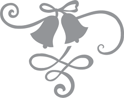 Wedding bells and ribbon