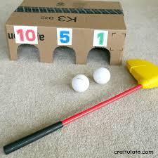 Indoor Golf Game For Preschoolers