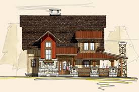 Barn Owl Rustic House Plans