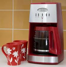Red Drip Coffee Machine