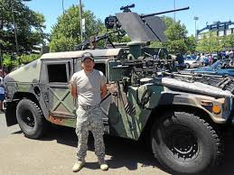 Trenton Car Show Features Military Truck Armed With Replica Machine ... Make Your Military Surplus Hummer Street Legal Not Easy Impossible Kosh M1070 8x8 Het Heavy Haul Tractor Truck M998 Hummer Gms Duramax V8 Engine To Power Us Armys Humvee Replacement Hemmings Find Of The Day 1993 Am General M998 Hmmw Daily Jltvkoshhumvee The Fast Lane Trenton Car Show Features Military Truck Armed With Replica Machine 87 1 14 Ton 4x4 Runs And Drives Great 1992 H1 No Reserve 15k Original Miles Humvee Tuff Trucks Home Facebook Stock Photos Images Alamy 1997 Deluxe Ebay Hmmwv Pinterest H1