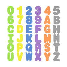 Bathtime Numbers And Letters Kmart