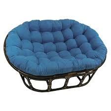 Foldable Oversized Papasan Chair In Indigo by Furniture Papasan Chair Cushion Papasan Chair Slipcover