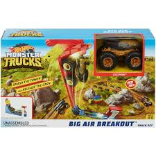 100 Monster Truck Decorations Hot Wheels MT Big Air Breakout Playset