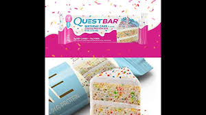 Ultimate Taste Test Quest Bar Birthday Cake Or ONE