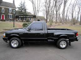 1999 Ford Ranger Step Side Pickup Truck With 5 Speed Manual. . .