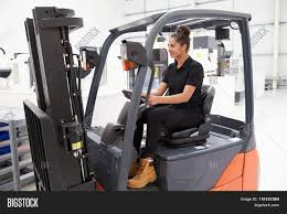 100 Female Truck Driver Fork Lift Image Photo Free Trial Bigstock