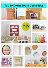Top Ten Dorm Room Decor Ideas