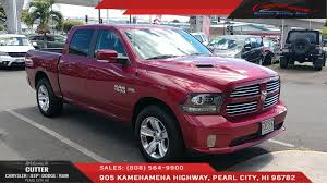 Pre-Owned 2014 Ram 1500 Sport Crew Cab Pickup In Pearl City #P15875 ... Used 2015 Chevrolet Silverado 2500 Crew Cab Pickup For Sale In 2012 Suzuki Equator Rmz4 First Test Motor Trend 2017 Nissan Titan Pickup Truck Review Price Horsepower Preowned Toyota Tundra 2wd Sr5 Costa Mesa Cab Stock Image Image Of Light Gleaming 18783305 4wd Truck Platinum New 2019 Rare Custom Built 1950 Double Youtube Sword 2016 Ford F250 Service Burgundy Rhd Certified 2018 Colorado Lt 4x4 Wichita Ks 2010 Dodge Ram Power