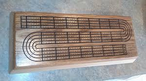 Need A Bit Of Help With Cribbage Board Template
