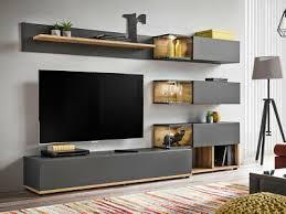wohnwand silk wohnzimmer set modern design anbauwand
