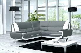 canapé gris et blanc pas cher canape simili cuir blanc pas cher canape simili blanc canapac