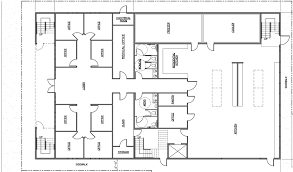 Floor Plan Architectural Drawing Design Plans Creative Office Lighting Small