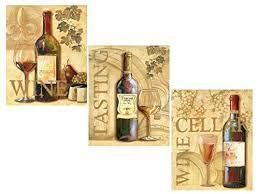 3 Wine Grape Art Prints Tuscany Posters Kitchen Decor Poster Print By Ron Jenkins 8x10