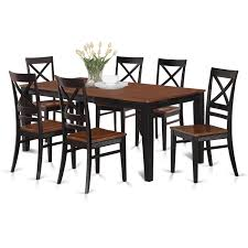 Shop QUIN7-W Black/Cream/Cherry Rubberwood Dining Table And 6 ... Vintage Kitchen Table And Chairs Set House Architecture Design Shop Greyson Living Malone 70inch Marble Top Ding Westlake Transitional Cherry Wood Pvc Leg W6 The 85ft W 6 Forgotten Fniture Homesullivan 5piece Antique White And 401393w48 Plav7whiw Rubberwood 7piece Room Free Shipping Cerille Rustic Brown Of 2 By Foa Amazoncom America Bernette Round East West Niwe6bchw Pc Table Set With A