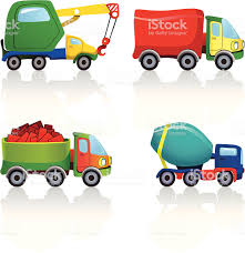 100 Trucks Cartoon Stock Vector Art More Images Of 163863070